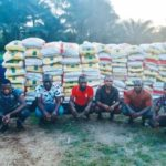 [BREAKING NEWS] – 6 Rice Smugglers Arrested By Nigerian Navy, 1,439 Bags Of Rice Seized In Akwa Ibom.
