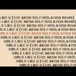 Akon – Girls Like U (The Self-Isolation Remix)