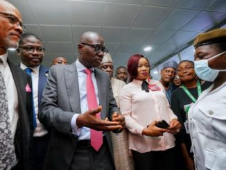 sanwo olu HMO and commisioner for health