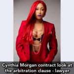 Cynthia Morgan contract look at the arbitration clause – lawyer
