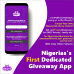 """First Ever Dedicated Giveaway App """"GEEVE"""" Launches In Nigeria Amidst COVID-19 Pandemic"""