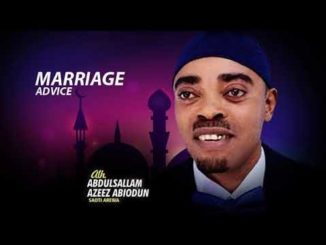 Saoti Arewa – Marriage Advice