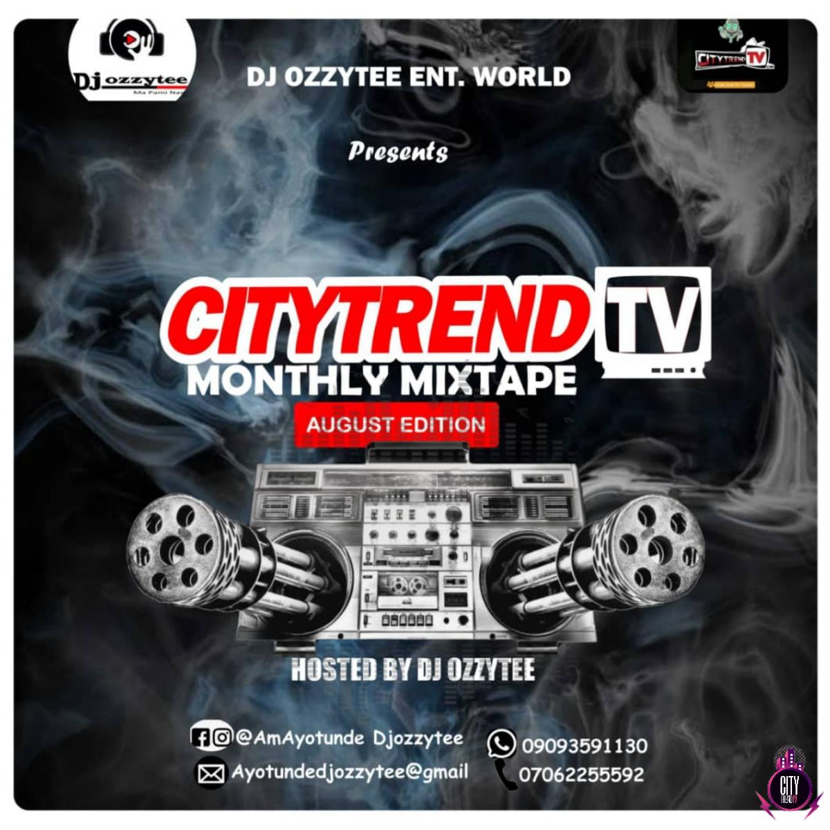 DJ Ozzytee August Edition Monthly Mix mp3 image