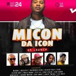"Micon EP Launch ""DA ICON"" 24th October 2020"