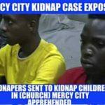 Notorious Children Kidnappers/Ritualist Arrested in Prophet Jeremiah Fufeyin's Mercy City Church, Warri, Delta State, Nigeria