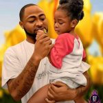 Davido and Daughter 2021 Cartoon