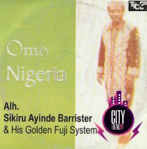 Dr Sikiru Ayinde Barrister — Omo Nigeria