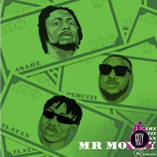 Asake – Mr Money Remix ft. Peruzzi Zlatan