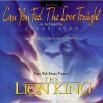 Elton John — Can You Feel The Love Tonight