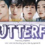P1Harmony 피원하모니 – Butterfly Colour Coded Lyrics