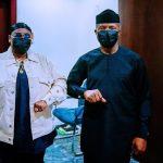 See Moment Teni Met With Vice President Osinbajo In Aso Rock (Photos)
