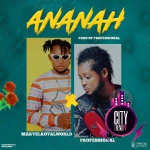 Marvelroyalworld ft. Professional — Ananah Instrumental
