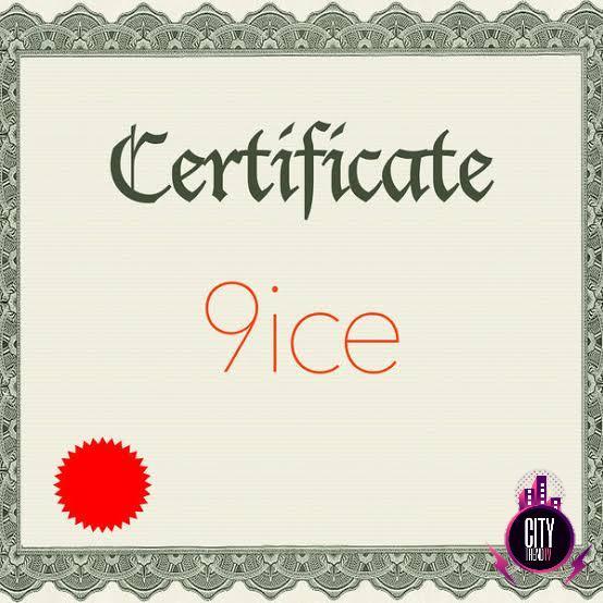 9ice — Certificate Zip